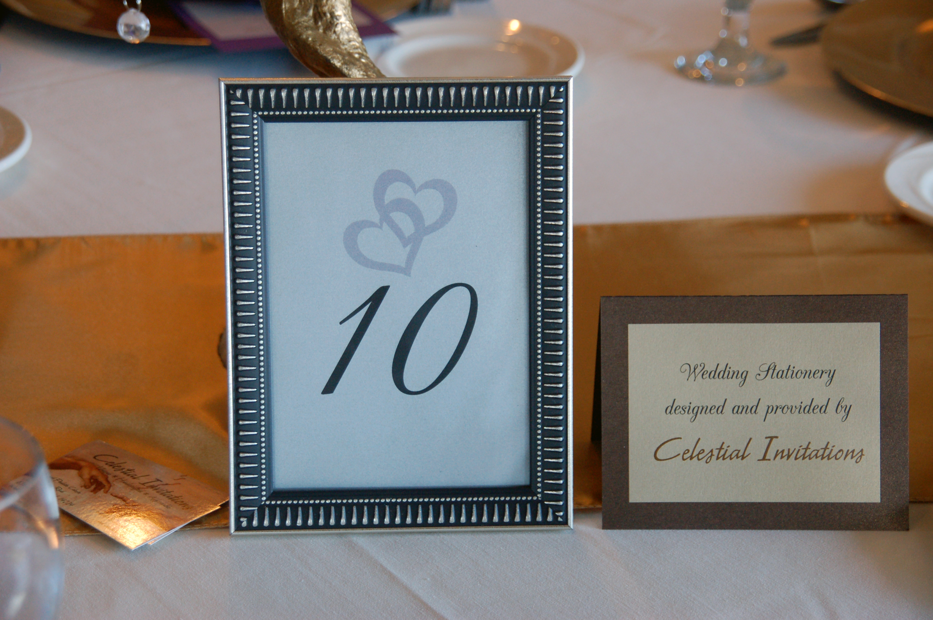 Table 10 Sign