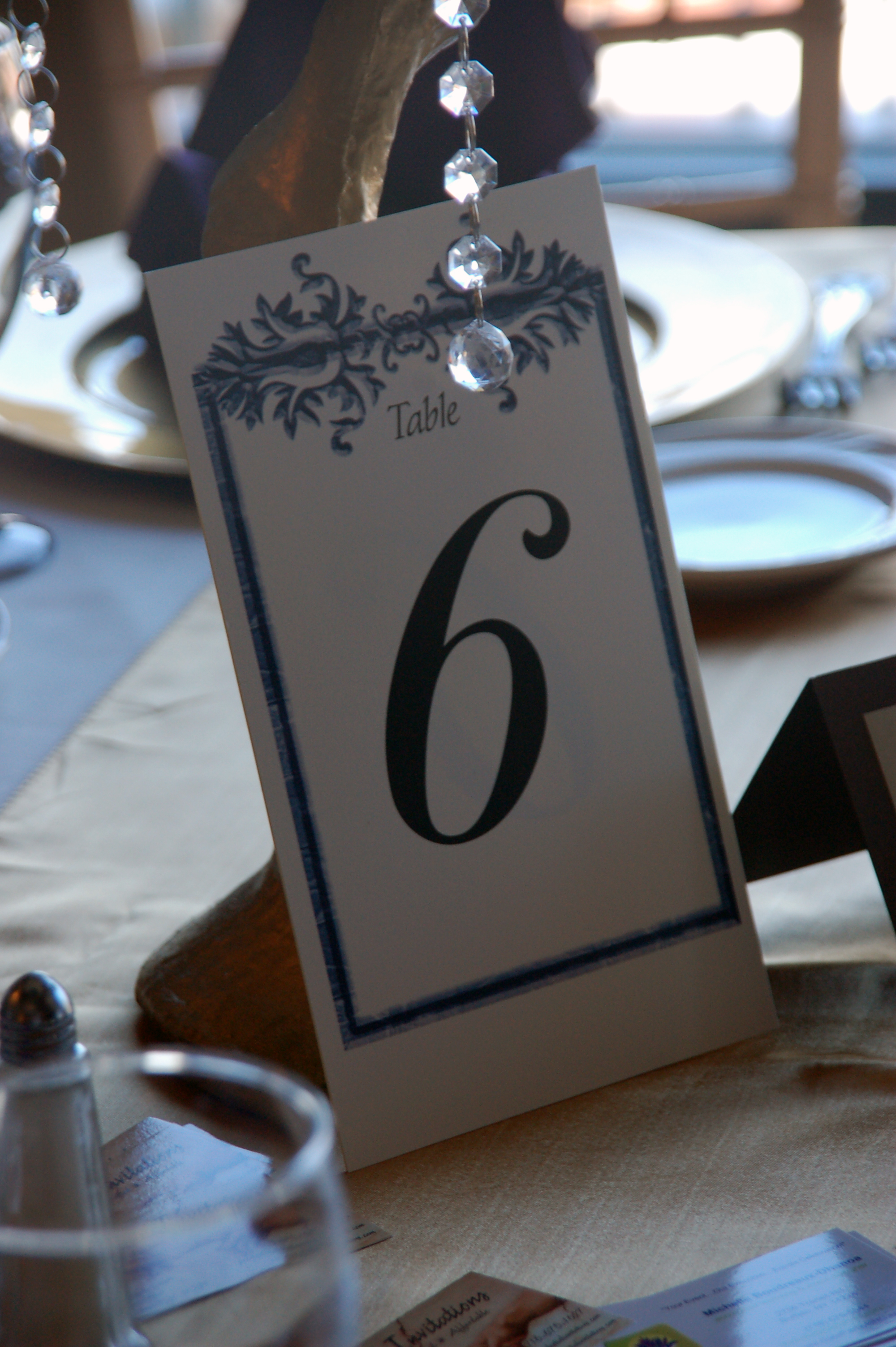 Table 6 Sign